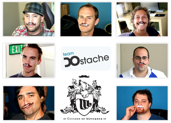 how to make a movember team