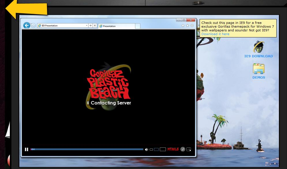 Gorillaz Get All HTML5