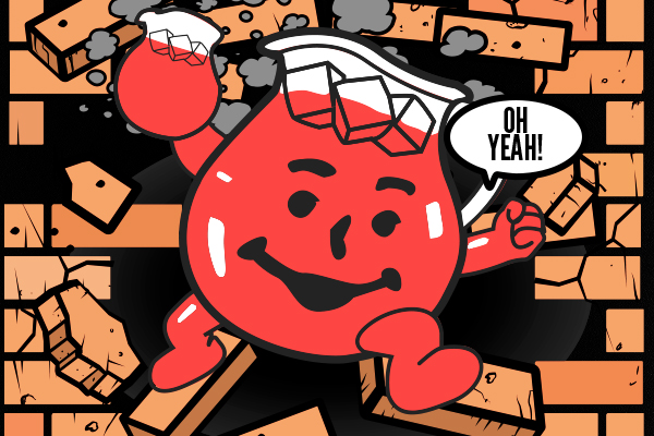 Kool Aid Man teaches content marketing