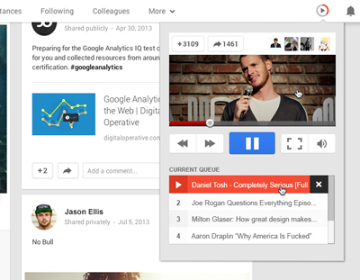 Better UE for Google Plus