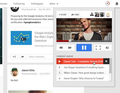Better UE for Google Plus
