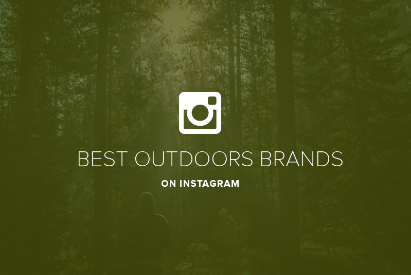Outdoor brands on Instagram