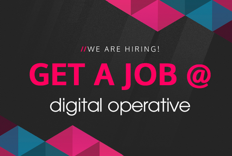 Digital Operative - Hiring