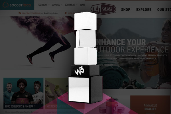W3 Awards 2015 Ecommerce Websites