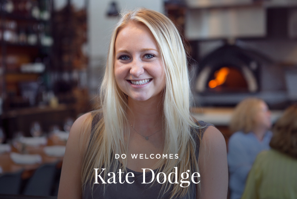 Welcome Kate Dodge