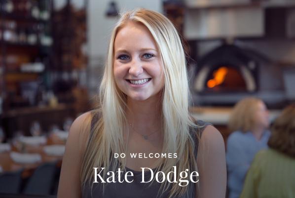Welcome Kate Dodge