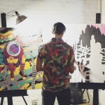 Hugo Fierro live art