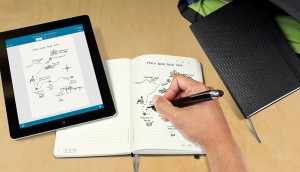 Livescribe with moleskine