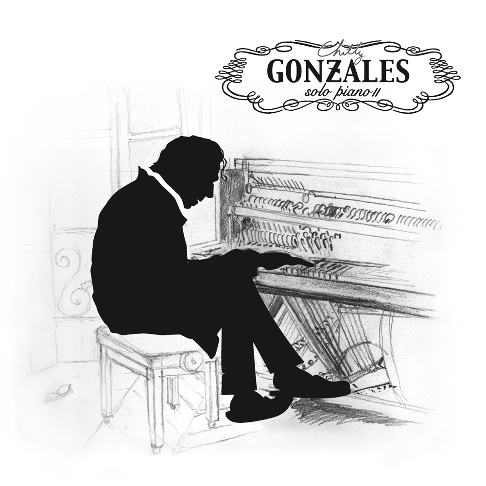 Chilly Gonzales - Solo Piano II - Top Albums for Designers