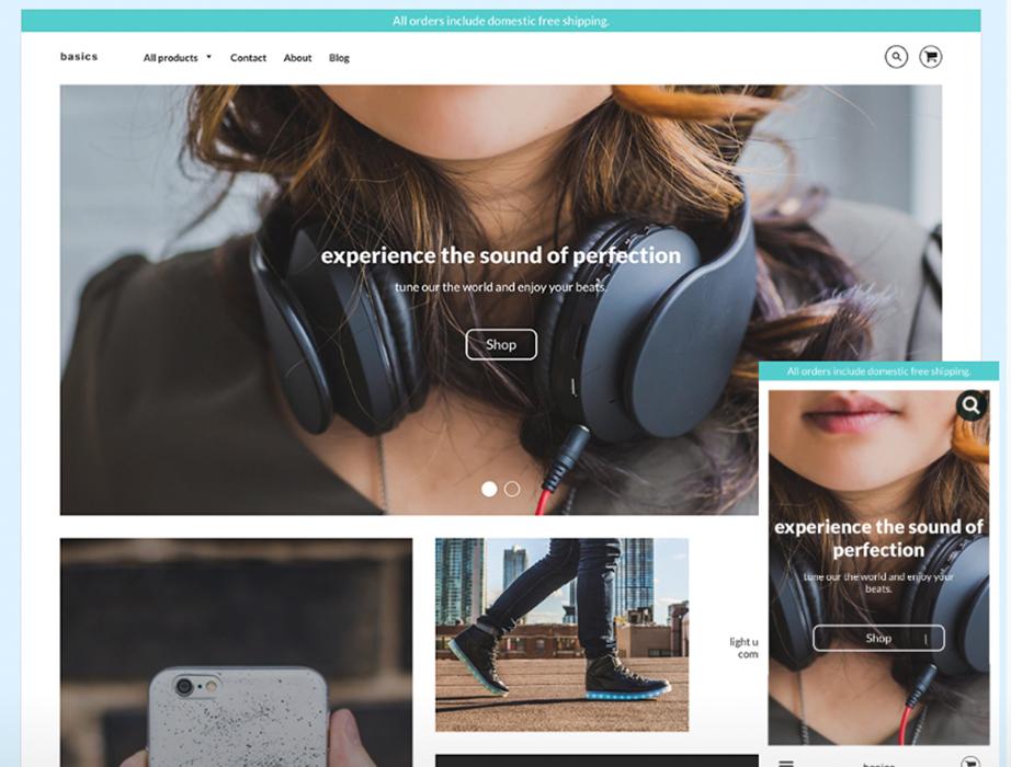 Shopify Theme Loft