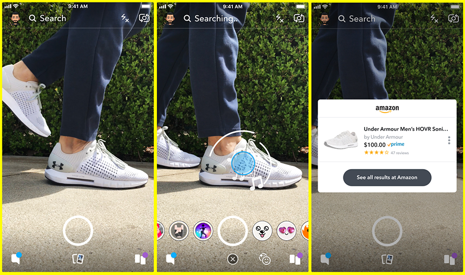 Snapchat Amazon partnership
