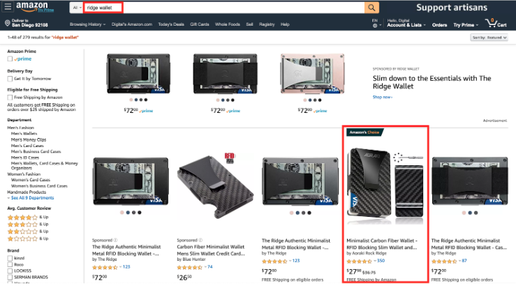 Amazon Offensive Advertising