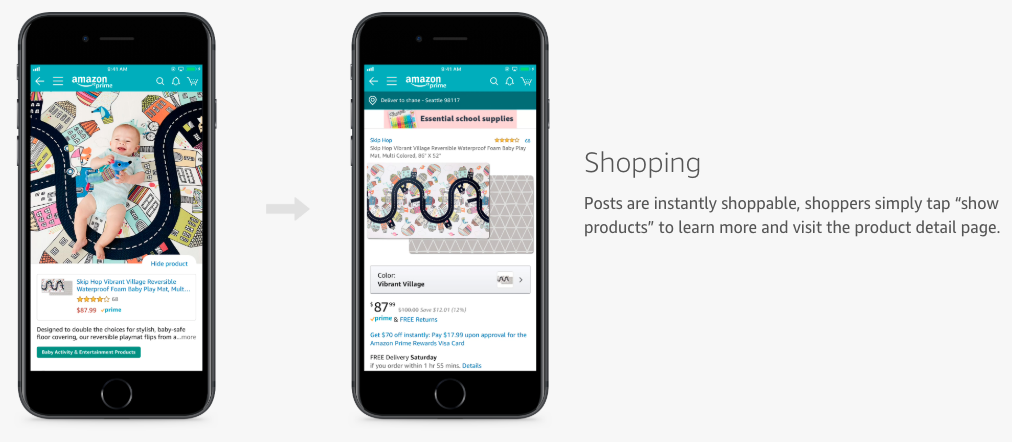 Amazon Posts - Shopping