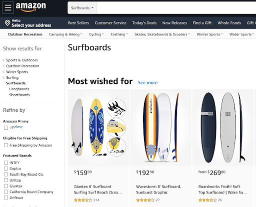 South Bay Board Co on Amazon